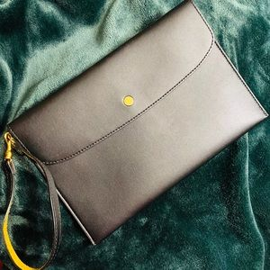 Stella McCartney lambskin clutch